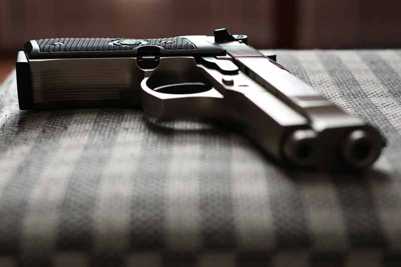 gun-for-home-defense-semi-auto-on-table