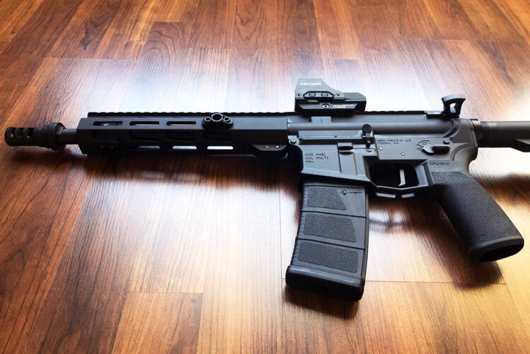 Ruger AR-556 with Aero M4E1 Stripped Lower Receiver