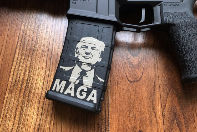 Ruger AR-556 Pistol with Trump PMAG